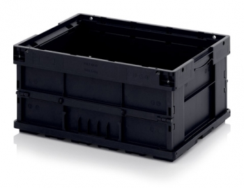 ESD foldable KLT boxes